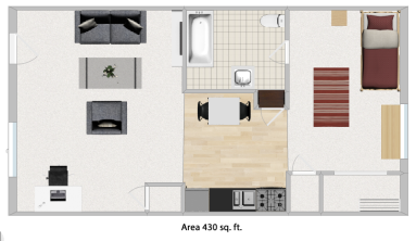 1bed(style1) light